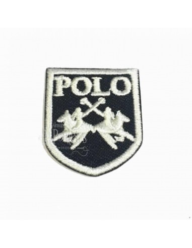 Aplicación escudo polo
