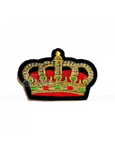 Aplicación bordado corona