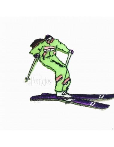 Aplicación esquiadora