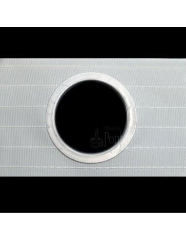 Cinta de cortina ojetes 42mm