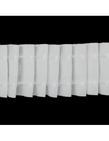 Cinta de cortina fruncidora 40mm