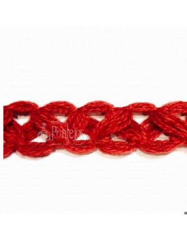 Pasamanería lana 020