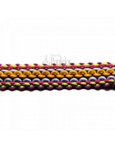 Pasamanería lana 017
