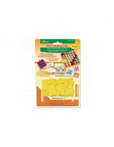 Clips puff quilting grande clover